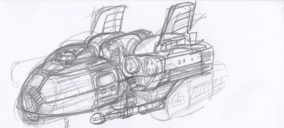 ShipPencilSketch