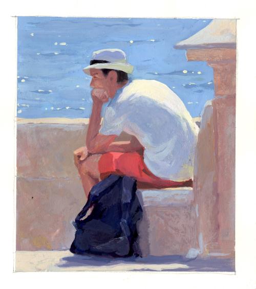 Boy in Sunlight
